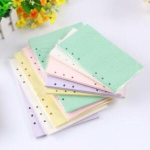 6-Holes-A5-A6-Filler-Paper-Loose-leaf-Notebook-Paper-Supplies-Durable-Hot-S-I7K5