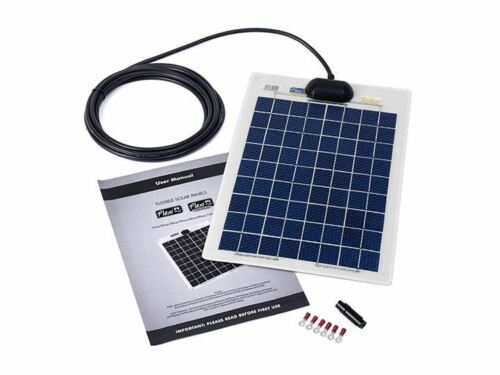 PV Logic Flexi 10w Solar Panel Kit Outdoor Lighting Energy