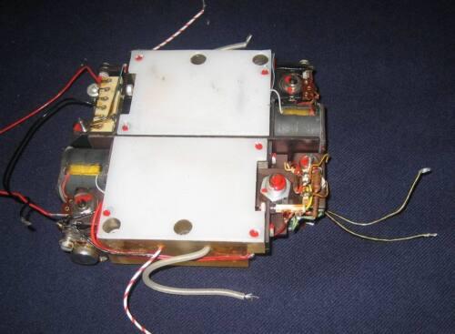 Doppel Hochspannungsnetzteil 2x16kV 2x3kV für Telefunken B80S Bildwandlerröhre