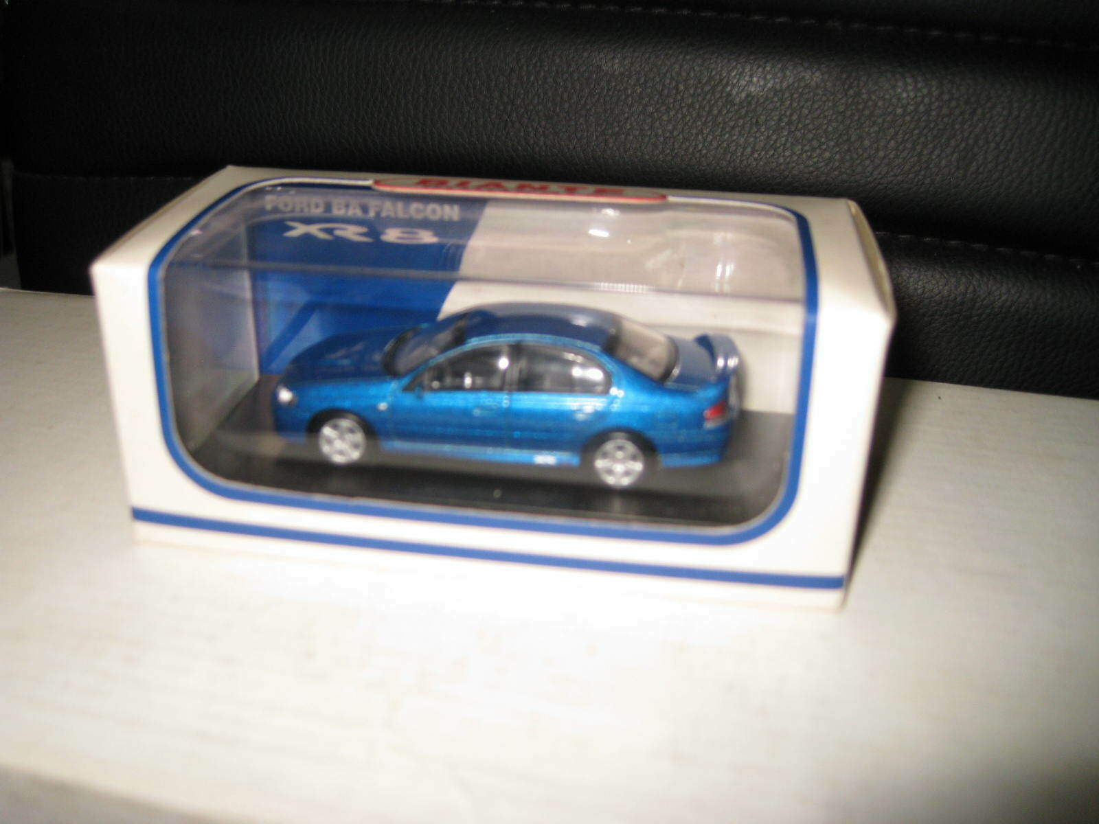 Mint in display case. 1:64 Ford Falcon BA XR8 Venom Red BIANTE