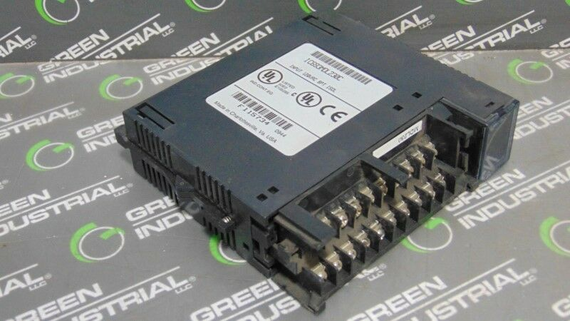USED GE Fanuc IC693MDL230C Series 90-30 Isolated Input Module No Cover