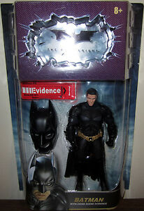 Details about MIP Rare UNMASKED BATMAN The Dark Knight DC Chase Figure  Crime Scene Evidence 6
