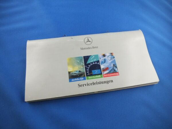 Enthousiast Original Mercedes Wartungsheft Mit Datenkarte W202 Serviceheft C Klasse Service