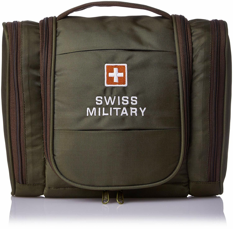 Swiss Military Green Toiletry Bag (TB-2) free shipping US