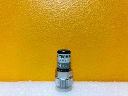 Agilent 85031-60002 DC to 6 GHz APC-7mm Precision Coaxial Load Termination. HP