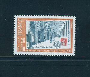 FRANCIA-FRANCE-1979-MNH-SC-B520-Stamp-Day