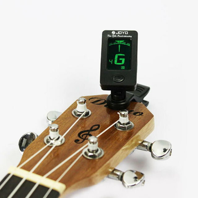HOTEST Digital LCD Clip-on Electronic Chromatic Tuner Guitar Bass Violin Ukulele