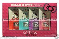 Softlips 4pc Lip Balm Hello Kitty Cube Set Limited Edition Holiday Exp. 8/17