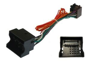 20-161-PEUGEOT-207-2006-Onwards-Quadlock-Connecteur-Radio-ISO-Cable-sous-plomb