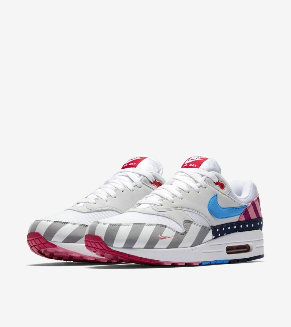 Nike Air Max 1 Parra Size 12 Deadstock Ships Immediately Sold Out DS With Tags