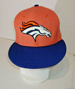 7 1//4 Denver Broncos NFL Draft On Stage 59FIFTY Fitted Cap
