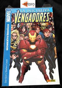 COMIC-LOS-VENGADORES-INICIATIVA-1-MOMENTO-HEROICO-Panini-Comics-Espanol-NUEVO