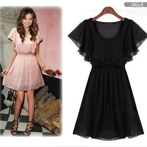 New-Women-039-s-Girl-Chiffon-Party-Club-Dress-One-Size-SHOP-Online