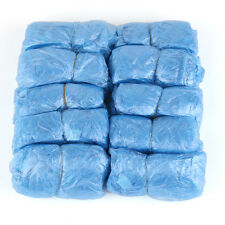 100pcs Disposable Shoe Covers Carpet Floor Protector Foot Covering Blue
