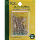 Dritz Various Quilting Crystal Glass Head Pins-size 30 100/pkg