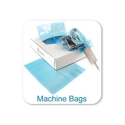 "Tattoo Machine Bag Covers 500pcs/box (5"" Inch x 5"" Inch) Tattoo Supply"
