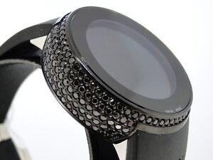 5-0-Ct-Ladies-Brand-New-Ya114401-I-Gucci-Digital-Black-Diamond-Watch