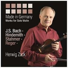 Made in Germany: Works for Solo Violin, New Music