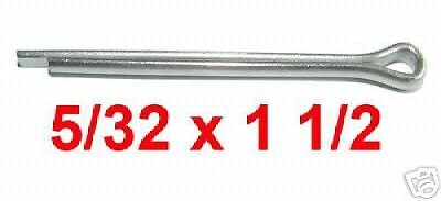 in acciaio inox Split COPPIGLIE x25 5//32 x 1 1//2 4 mm x 40 mm Inossidabile Split Pins