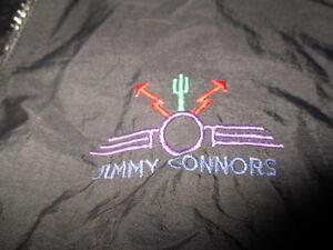 Vintage JIMMY CONNORS Zippered (LG) Windbreaker Jacket