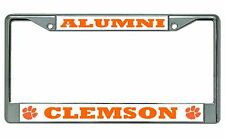 Clemson Tigers Alumni Chrome License Plate Frame