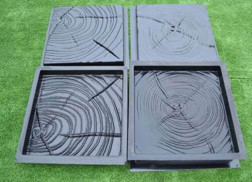 Set 5 Pcs En plastique moules pavage en béton dalles de pierre de terrasse #S17