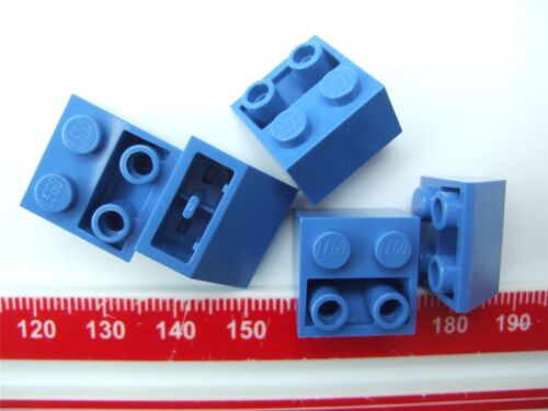 366023 5 x Lego Blue ROOF TILE 2X2//45 degrees INV Parts /& Pieces