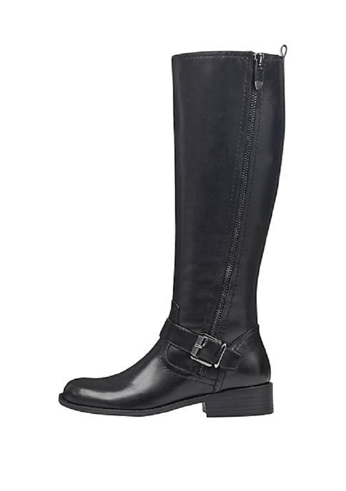 NEW MARC FISHER LACK LEATHER TALL RIDING BOOTS SIZE 8.5 M  179