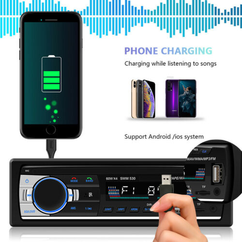 L Screen Bluetooth MP3 Player Car Original  Player Mobile Phone FM Radio USB