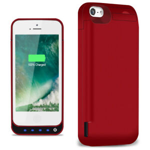 huge discount adaeb 314d8 Details about 4800mAh Battery Charging Case Power Pack External for iPhone  5 /iPhone5S /5C NEW