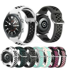 For Various Samsung Smart Watch Silicone Sports Band Strap Breathable