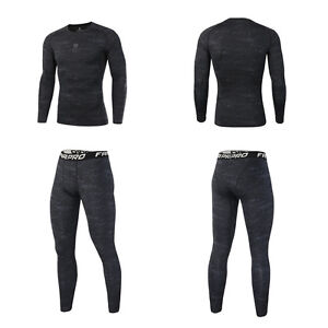 8cf90591809a7e Image is loading Men-Athletic-Pants-Compression-Fitness-Training-Running -Base-