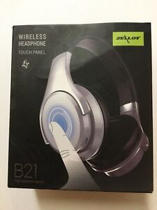1761c78b9d2 Image is loading Wireless-Headphones-ZEALOT-B21-Touch-Panel-Bluetooth-Over-