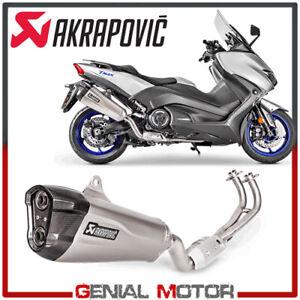 Exhaust Complete Akrapovic Racing Line Titanium Yamaha T Max 530 2017 2019 Ebay