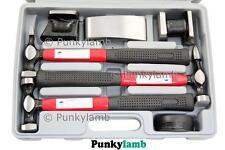 Professional Car Panel Beating Body Repair Kit Fibre Glass Handles Garage Tool