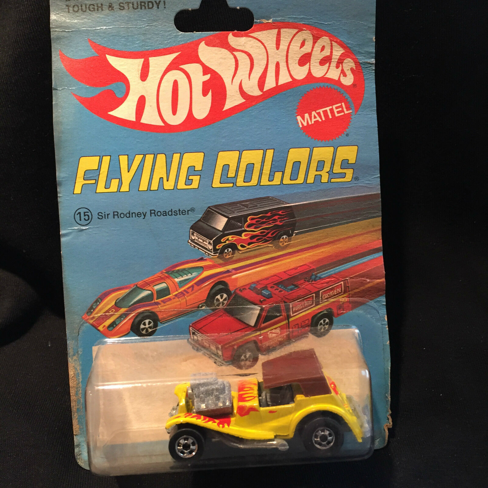 1977 Mattel Hot Wheels Flying Couleurs - (15) sir rodney Roadster  8261