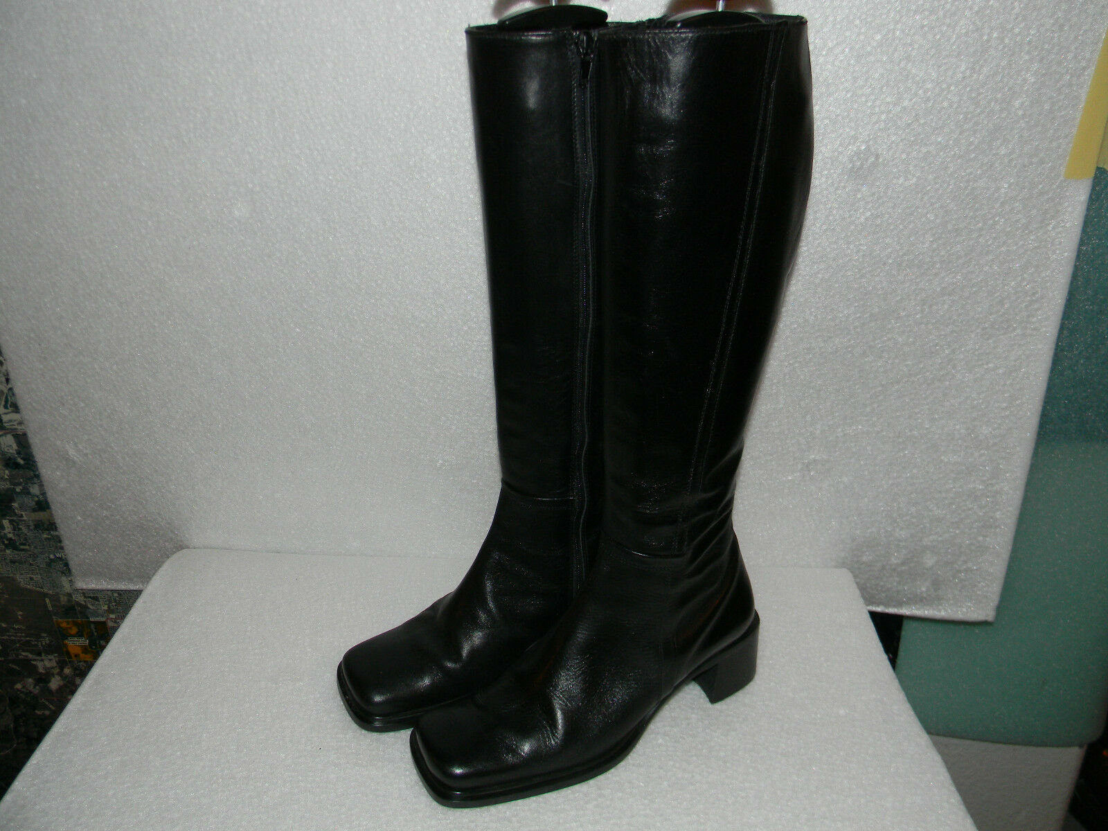 Eddie Bauer BOOTS 6.5 17 Tall LEATHER BOOTS MADE IN ITALY EDDIE BAUER Boots 6.5