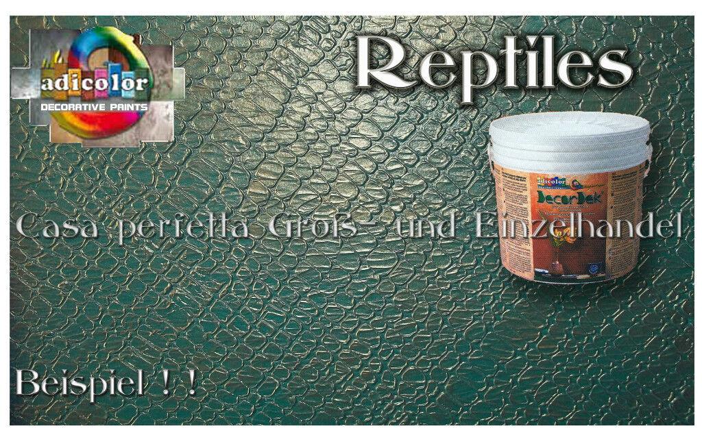 Der exotische Krokodil Haut Effekt neu Kein Marmorino, AdiFarbe