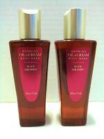 Bath Body Works Black Amethyst Oil To Cream Body Wash, 6 Oz/177 Ml, X 2