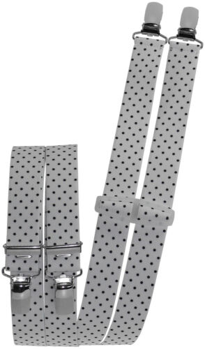 Damenhosenträger mit Punkten 25mm Breit Hosenträger