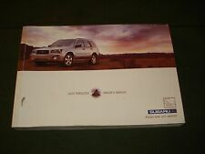 2003 SUBARU FORESTER OWNER'S MANUAL