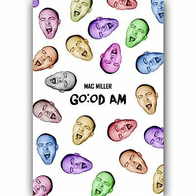 Mac Miller New Custom Art Poster Print Wall Decor
