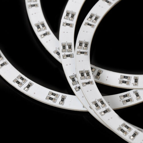 4 LED RGB Angel Eye Ringe Xenon Scheinwerfer Standlicht Halo Für BMW E46 E36 3 5