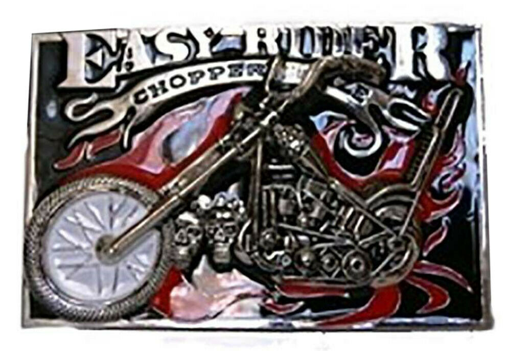 Easy Rider Ride Chopper Bike Biker Motorcycles Metal Belt Buckle