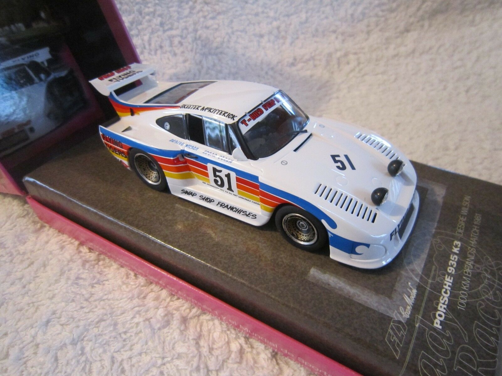 Fly - 1   32 - porsche 935 k3 -  1000 km brands hatch 1981  box - set