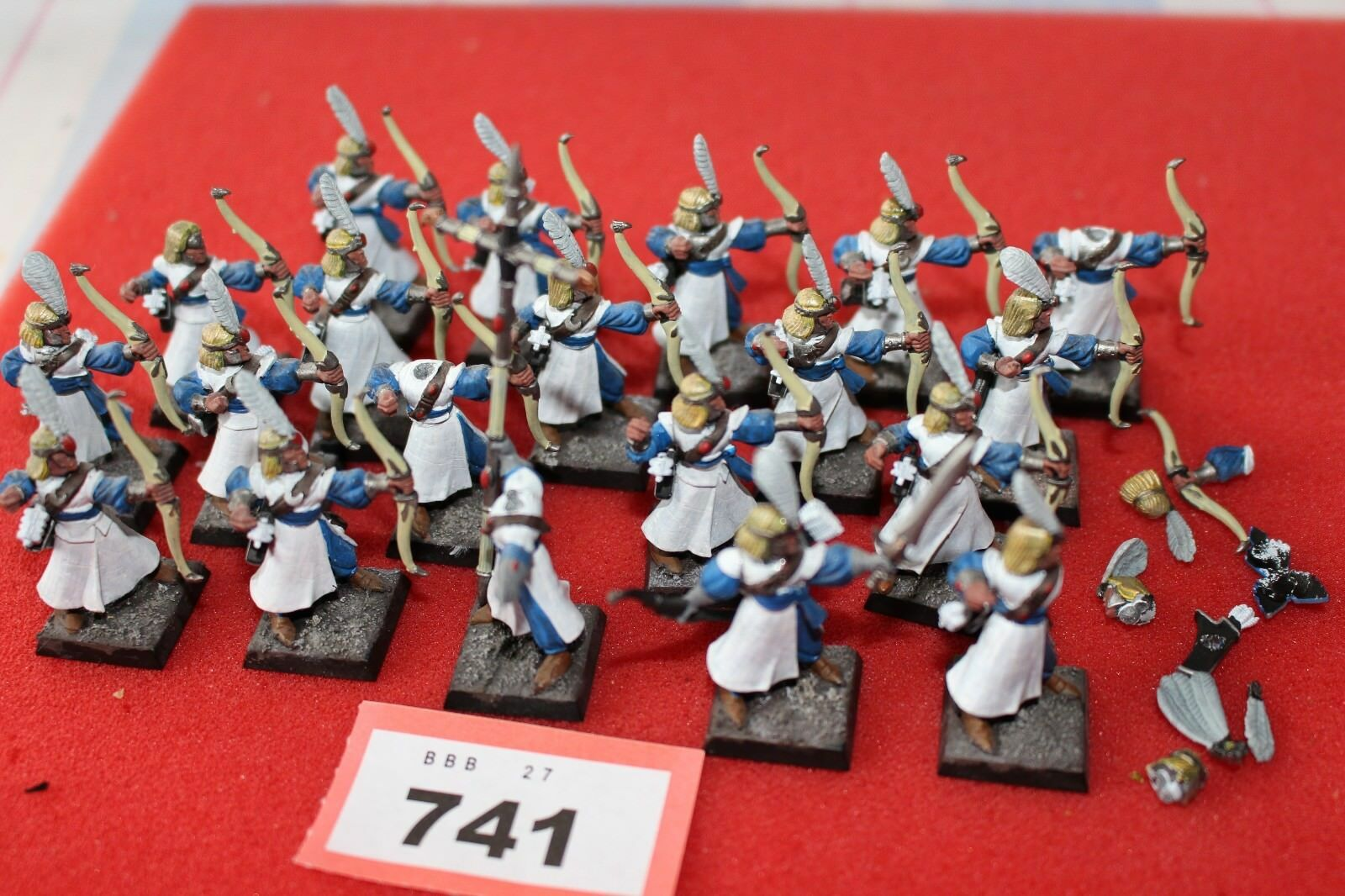 Games Workshop WARHAMMER Fantasy Elfi High Elf Archers Reggimento di 20 modelli GW