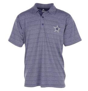 Dallas Cowboys NFL Mens Striped Polo