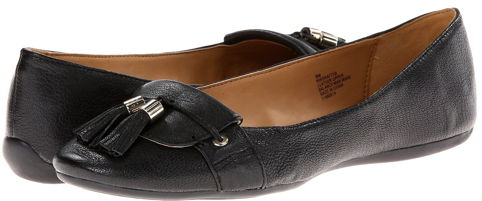 New Nine West Drafted leather women's shoes sz 9.5