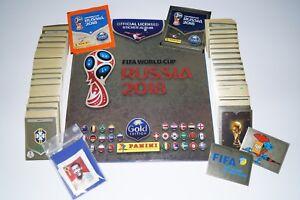 PANINI-Russia-2018-World-Cup-18-ORO-SVIZZERA-Set-Completo-Album-Legends