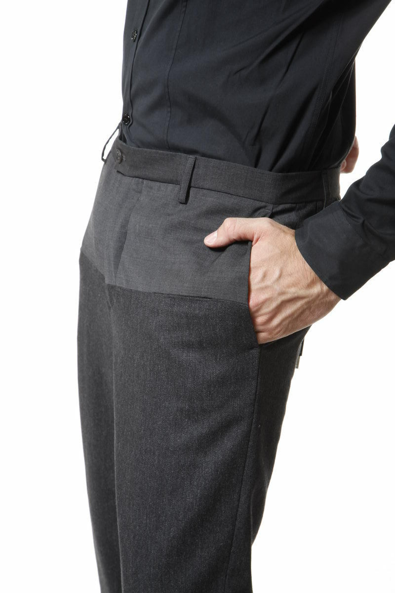 Pantaloni Pantaloni Pantaloni Daniele Alessandrini Trouser SLIM FIT Uomo Grigio P2804N5393305 10 4dac66